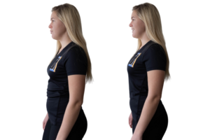 How to improve posture while standing
